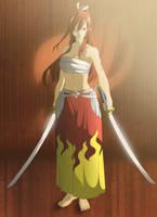 The Scarlet Training / Fairy Tail by kurai-akarui