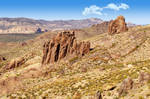 View of the Superstition Wilderness