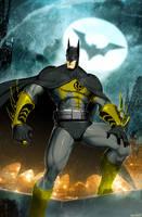 Sinestro Corps Batman by XxDan-The-ManxX