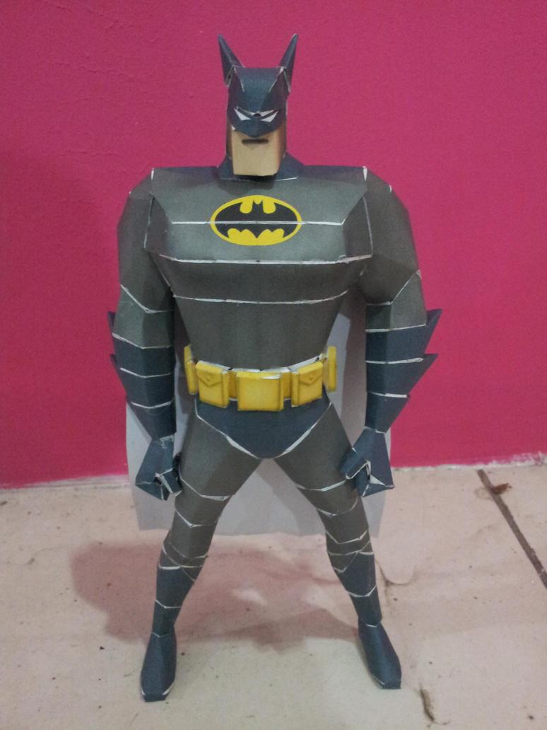 wallpaper craft batman: The Batman Papercraft By Amerakat On DeviantArt