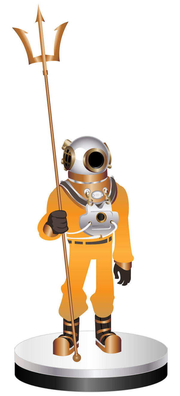 deep sea diving suit by samax on deviantart