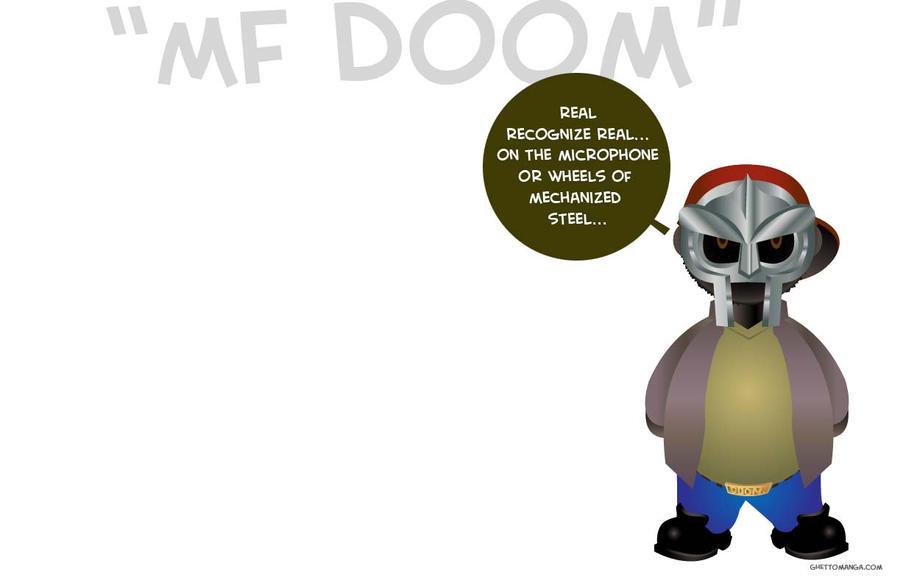MF DOOM wallpaper