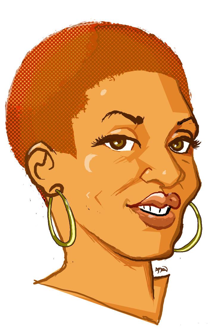 Cartoon Portrait- Madelyn by samax