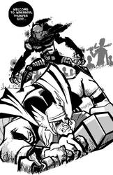 Welcome to Wakanda Thunder God by samax