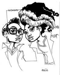 Kid Carvers Sketch by samax