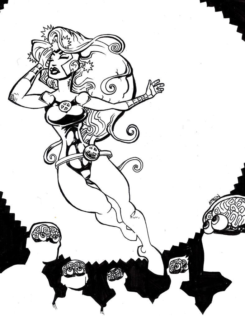 Fan Art Friday Jean Grey by samax
