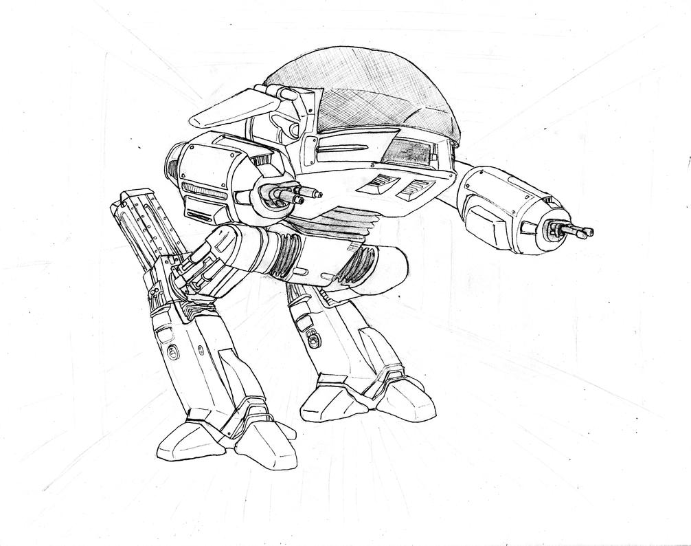 robocop coloring pages - photo#20