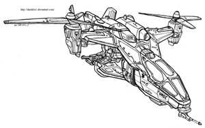 Utility Helicopter Model 144 (Falcon) by Dandelo1