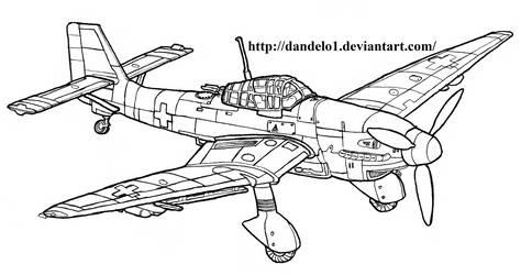 Junkers JU 87 D-3 Stuka