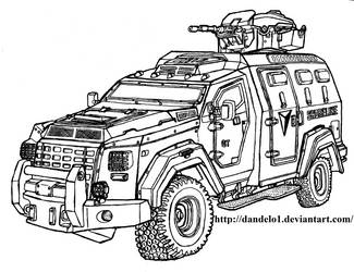Shoreline Armoured Personnel Carrier - Uncharted