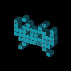 Invader2 by Whatawasteoftalent