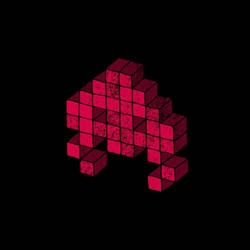 Invader3 by Whatawasteoftalent