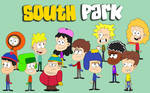 The South Park Gang (The Loud House style)