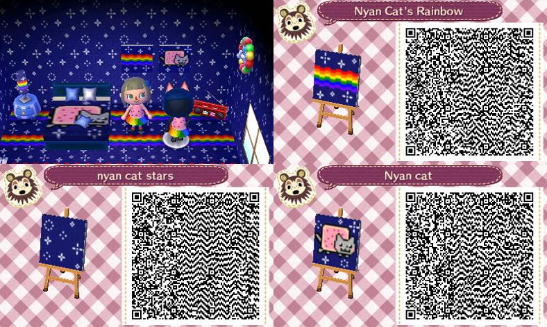 Animal Crossing New Leaf Cat Flag
