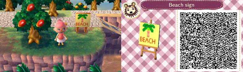 Beach Sign by GumballQR