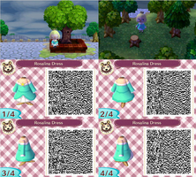 Rosalina Dress QR by GumballQR