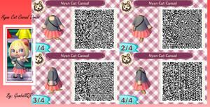 Nyan Cat Casual Dress by GumballQR