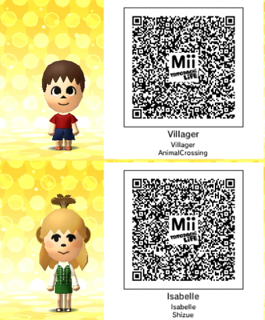 Tomodachi life villager and isabelle by gumballqr on deviantart