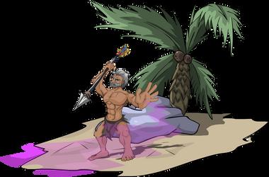 Caveman complete by BenjaminCorrea