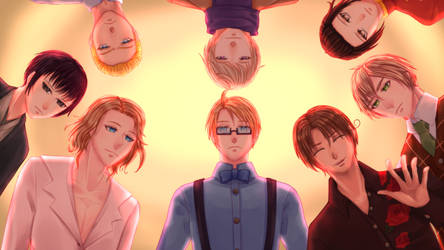 Fate's Bite Group CG by MissVeronicaMarie