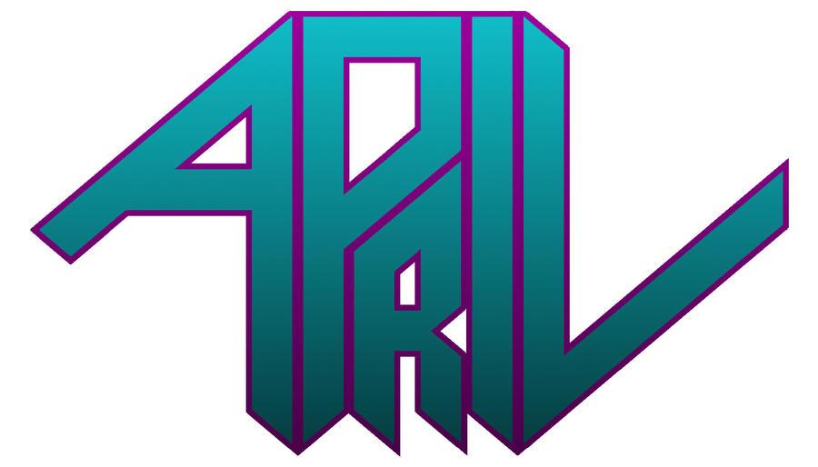 April Name Logo by LethalNinja on DeviantArt