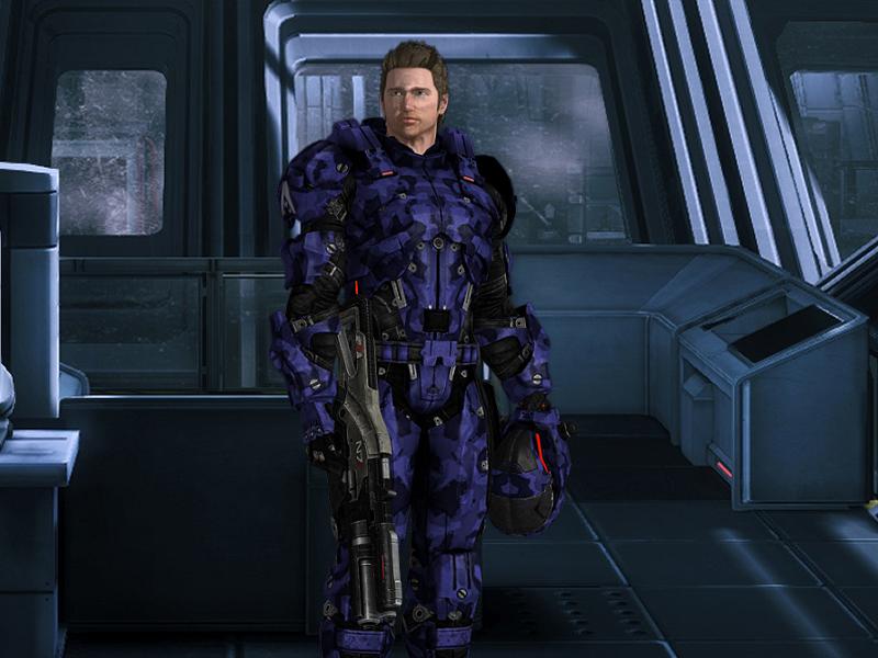 Mass Effect OC: human soldier 2 by Taleeze