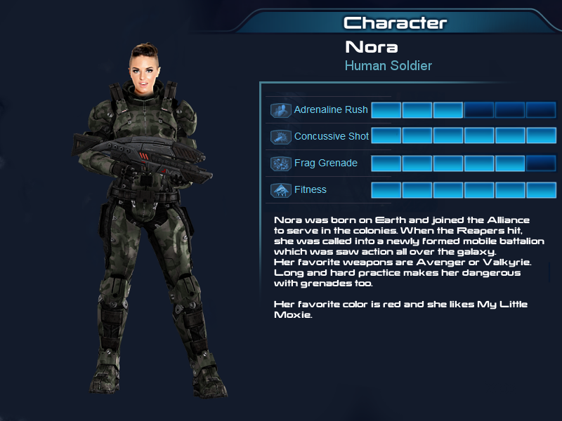 ME Multiplayer OC part 6a, Human Soldier no helmet by Taleeze