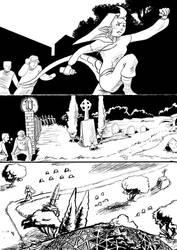 Eights vs. Miwesa unfinished EnterVoid comic pg1