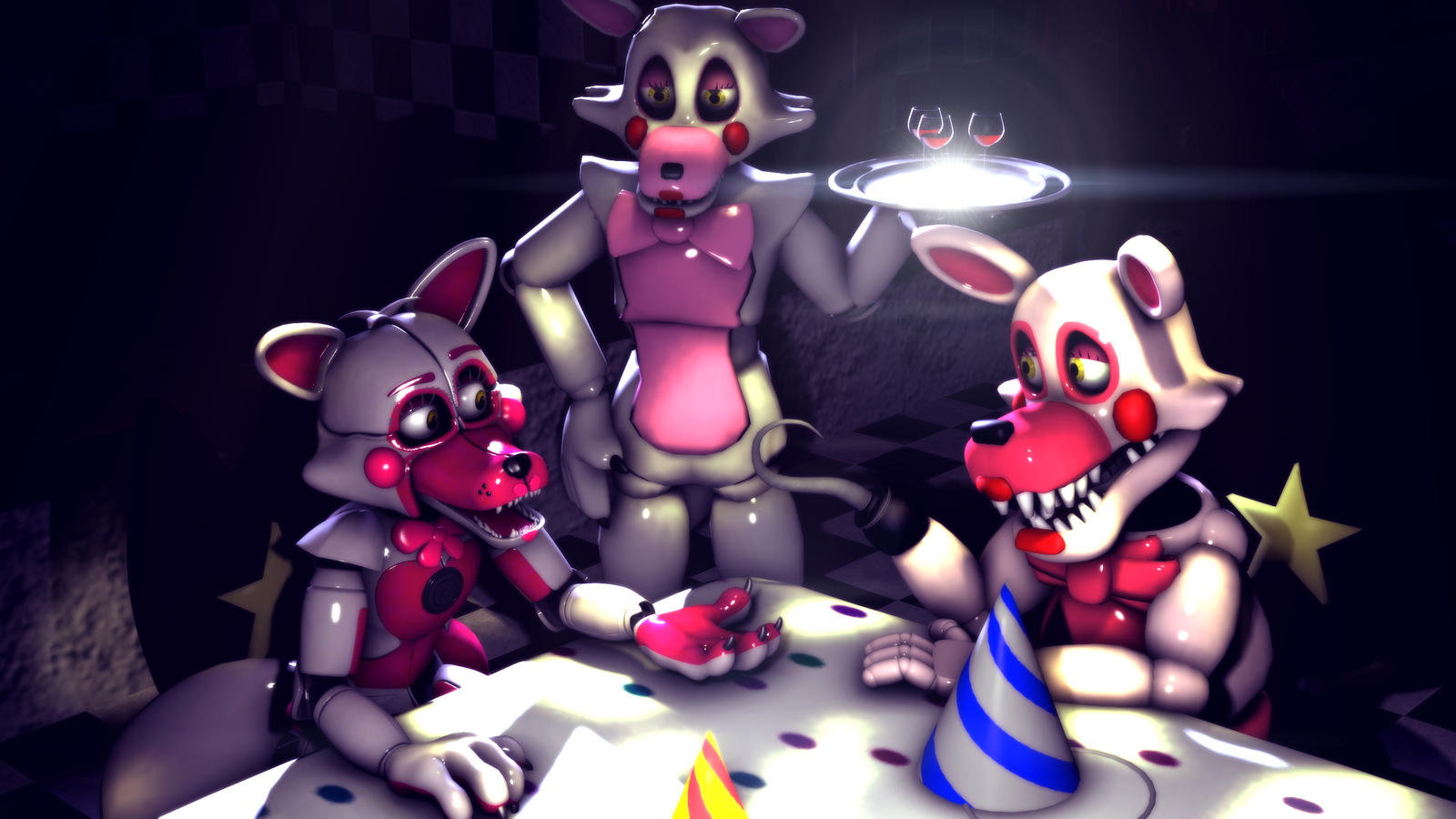 Funtime Foxy By Oldfoxy123 On DeviantArt