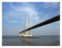 Vasco da Gama Bridge by jotamyg