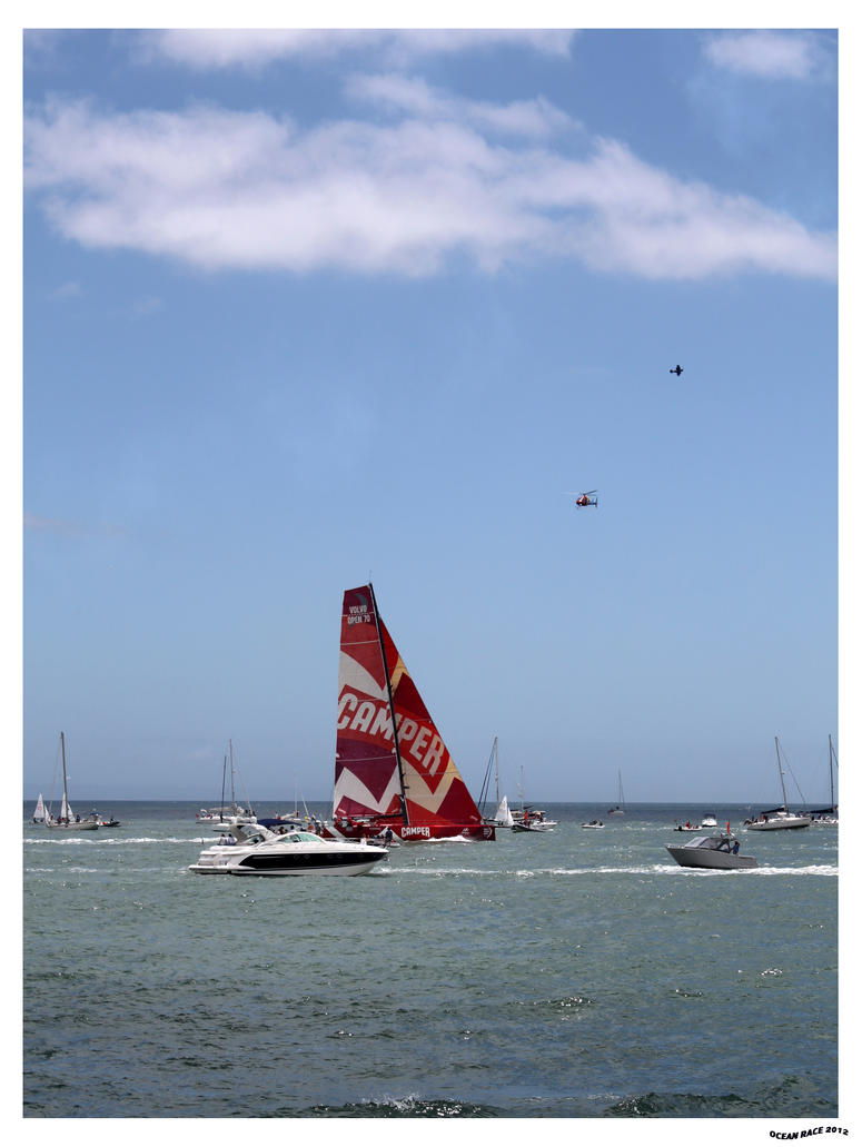 Volvo Ocean Race 2012 by jotamyg
