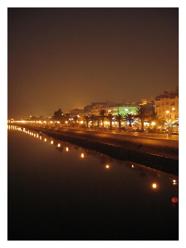 Lagos By Night by jotamyg