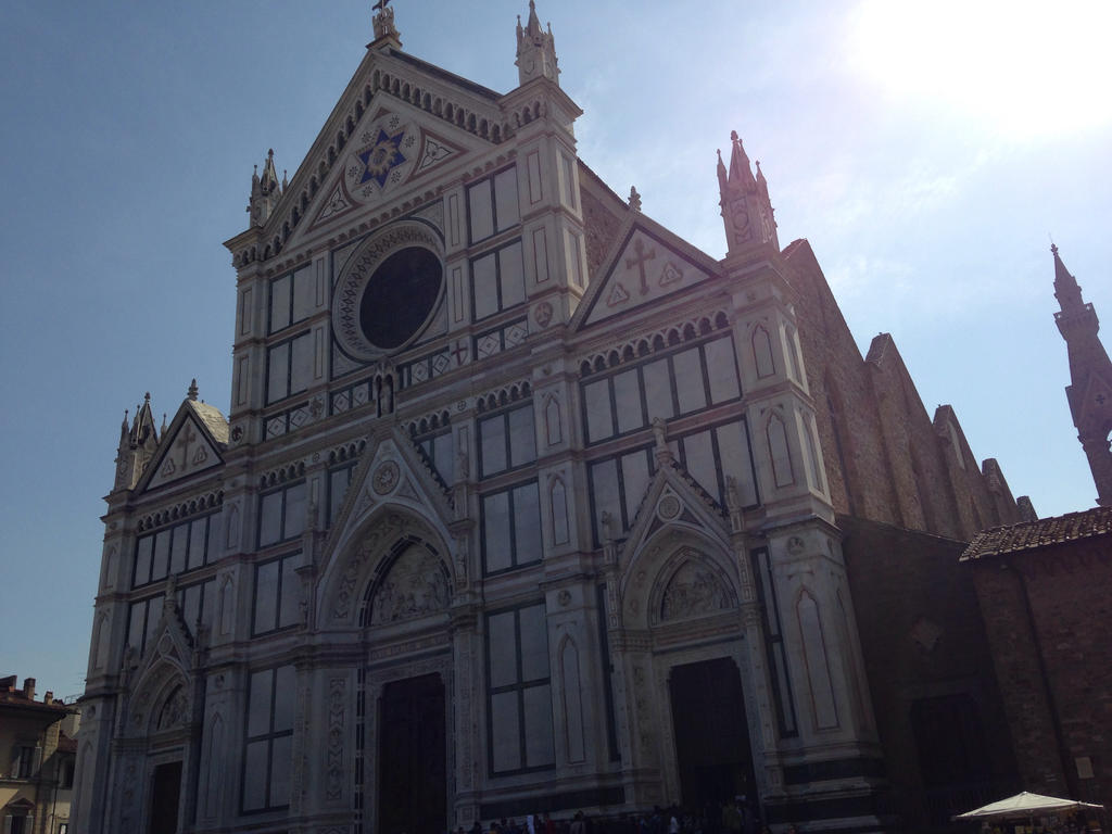 Basilica of Santa Croce by MelansGirl