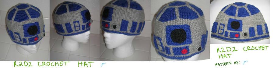 R2d2 Crochet Hat By Zikaeqs On Deviantart