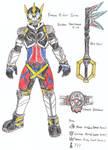 Kamen Rider Hearts (Early design)