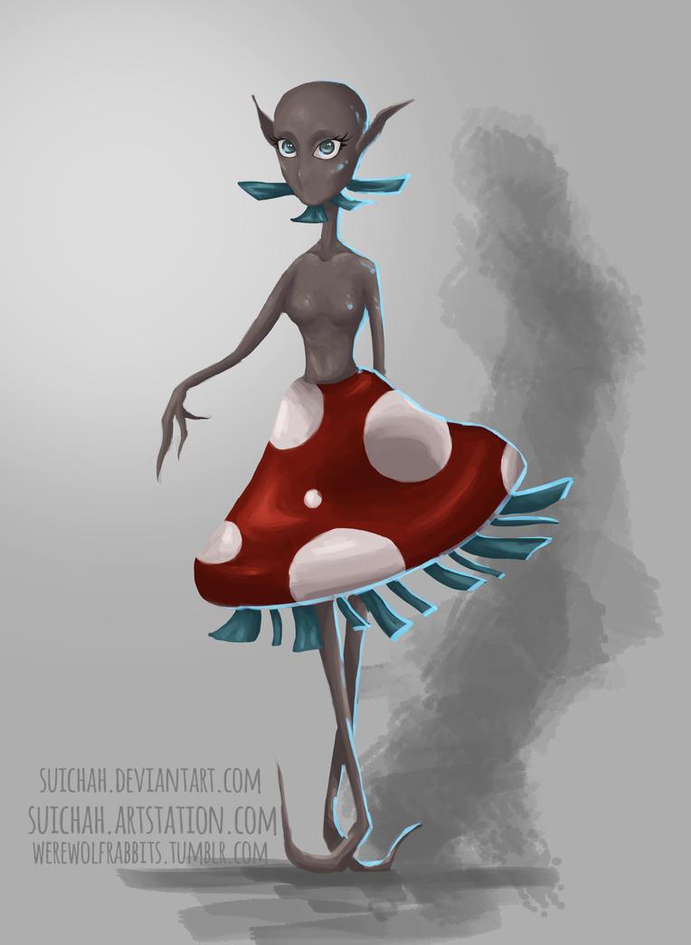 The Mushroom Princess by Suichah