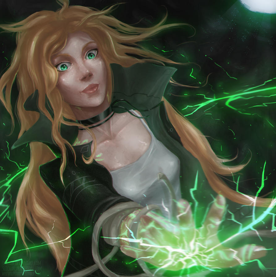 The Power Of Lightning by Suichah