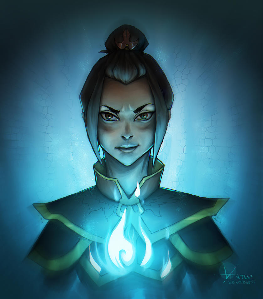 Azula - daily drawing 8 by Suichah