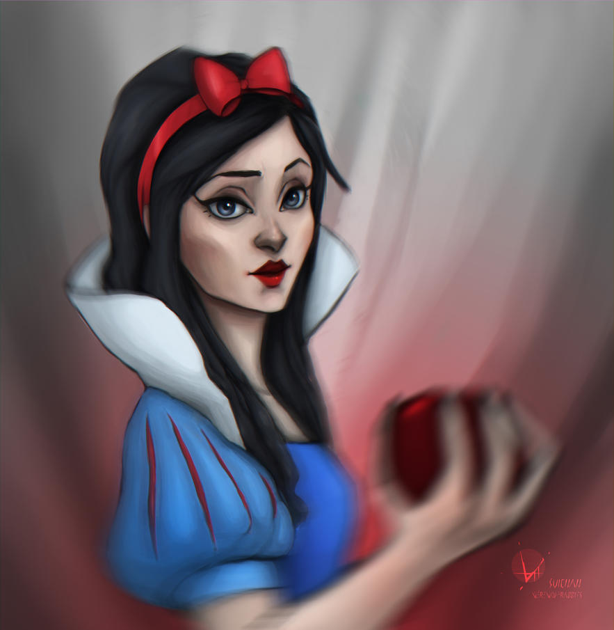 Snowwhite - daily drawing 13 by Suichah