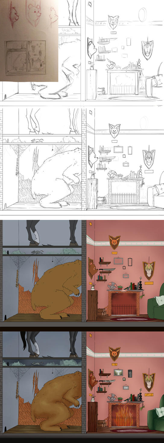 Cotm work in progress by Suichah