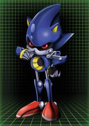 OVA Metal Sonic by Stewthepooh