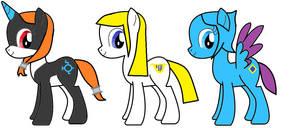 MLP: Zelda Ponies