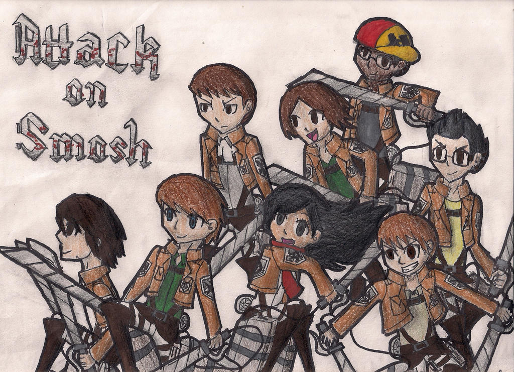 Attack On Smosh by MidnaCookies1425