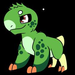 one spunky lizard