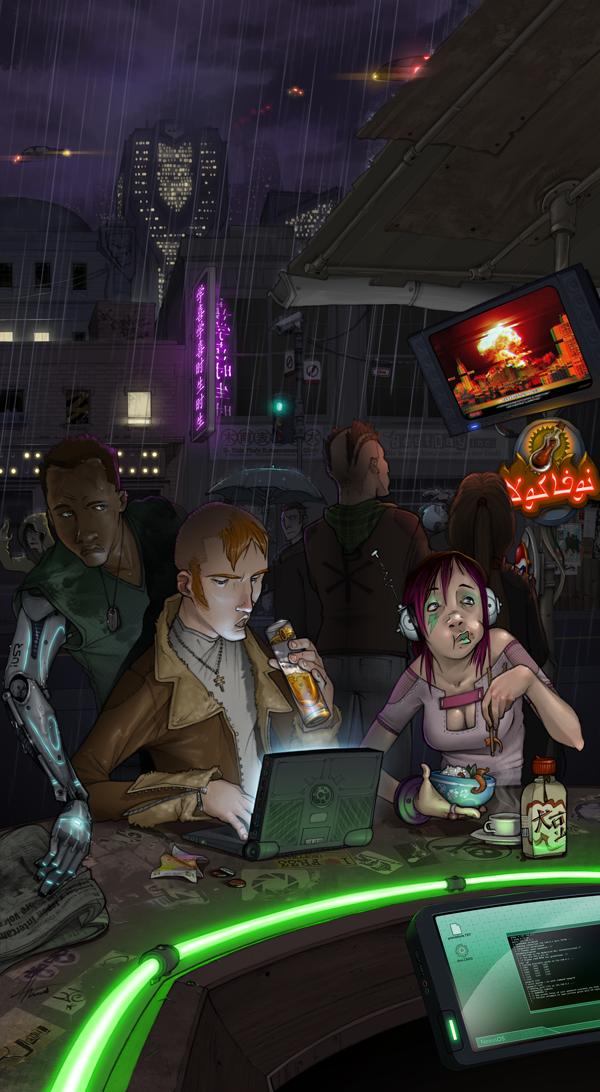 Cyberpunk Disarray by dadarulz