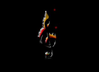 Burning note : Design by KrystalCroft