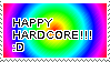 HAPPY HARDCORE STAMP by rainbowdoq