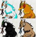 Mountain Demon Dragon Designs by Harusarchus