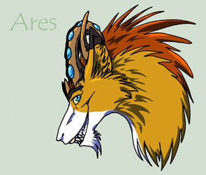Ares by Harusarchus