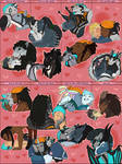 Valentine Kisses For Every Butt - Kiss Meme by Harusarchus